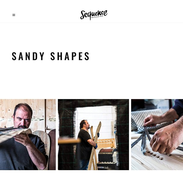 sequence snowboard magazine interview to sandy shapes