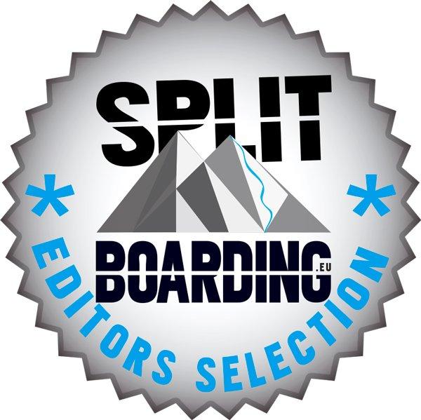 sandy shapes snowboard virtuosa split award