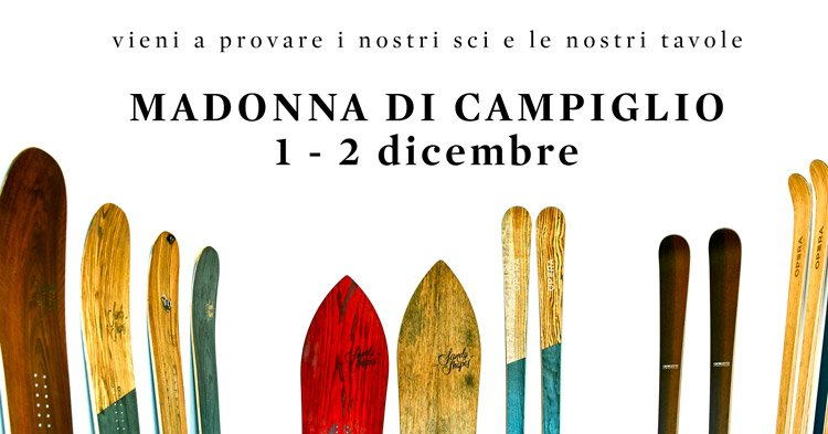 sandy shapes snowboard a demo e operaskis madonna di Campiglio