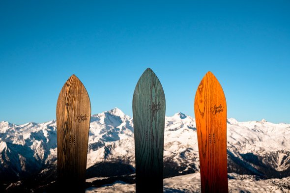 sandy shapes finely crafted snowboards newsletter