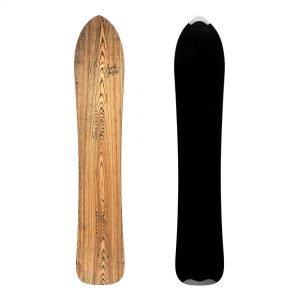 Fantastica - Snowboard direzionale in legno da freeride e carving