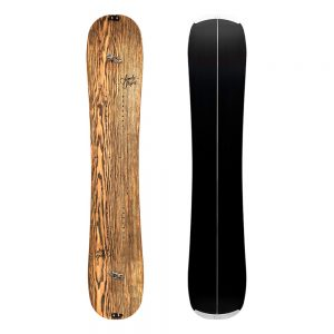 Sandy shapes snowboard zingara split in natural ash