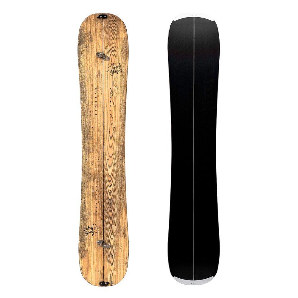 Zingara split - Splitboard twin-tip in legno di frassino naturale