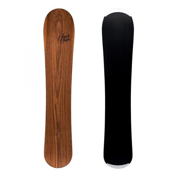Virtuosa - Snowboard all-mountain direzionale wide in legno di noce