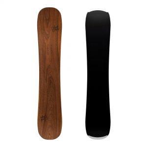 Zingara - Snowboard twin-tip all-mountain in legno di noce