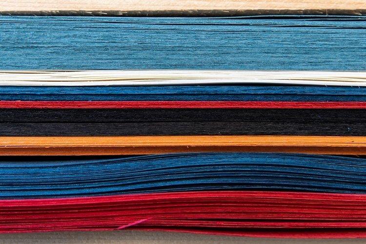 fogli in legno di frassino colorati per i topsheet in wood evolution
