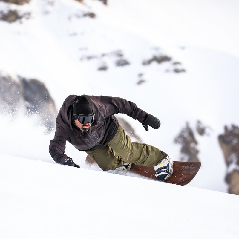Snowboard Carving - Sandy Shapes