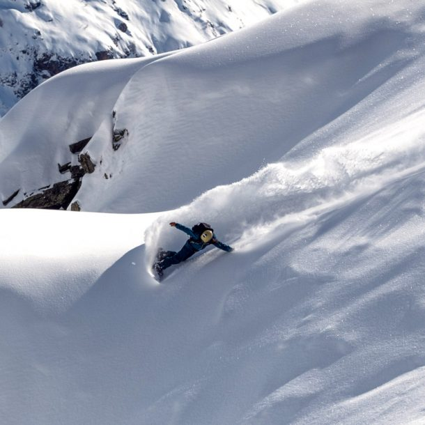 freeride snowboards - Sandy Shapes