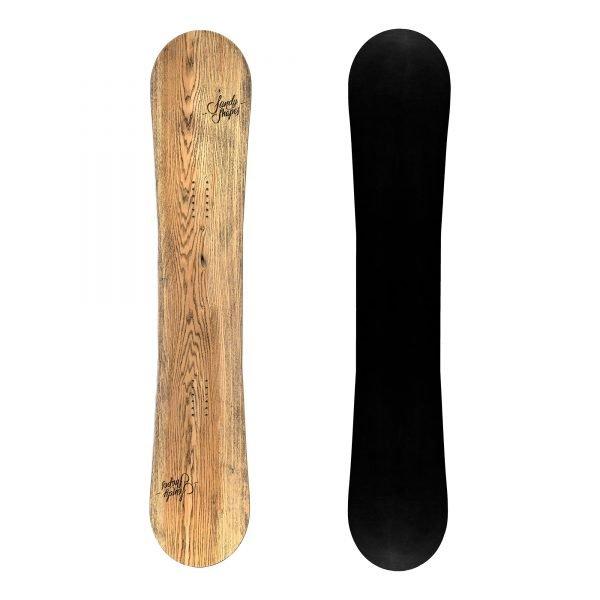 Audace - Snowboard in legno con rocker da Freestyle e per pista