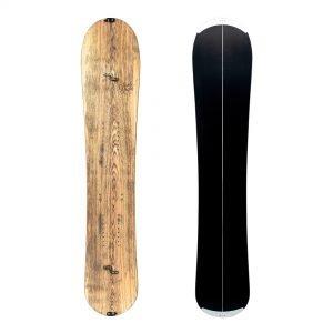 Virtuosa split, Splitboard da Big Mountain in legno di frassino