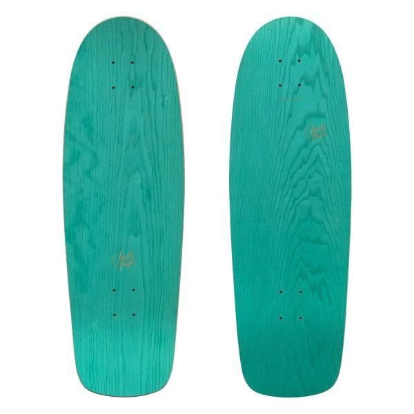 Pacifico: Surf-skate Cruiser in legno di frassino verde