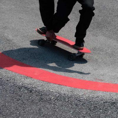 sandy shapes surfskate